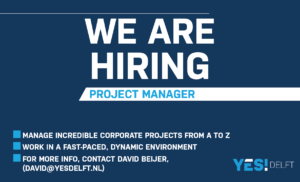 Project Manager YES!Delft